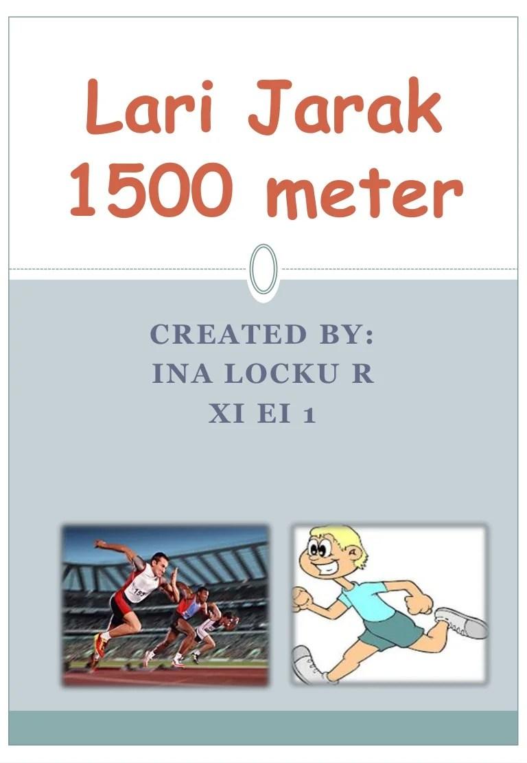 Lari Jarak Menengah Menggunakan Start : jarak, menengah, menggunakan, start, Jarak, Meter