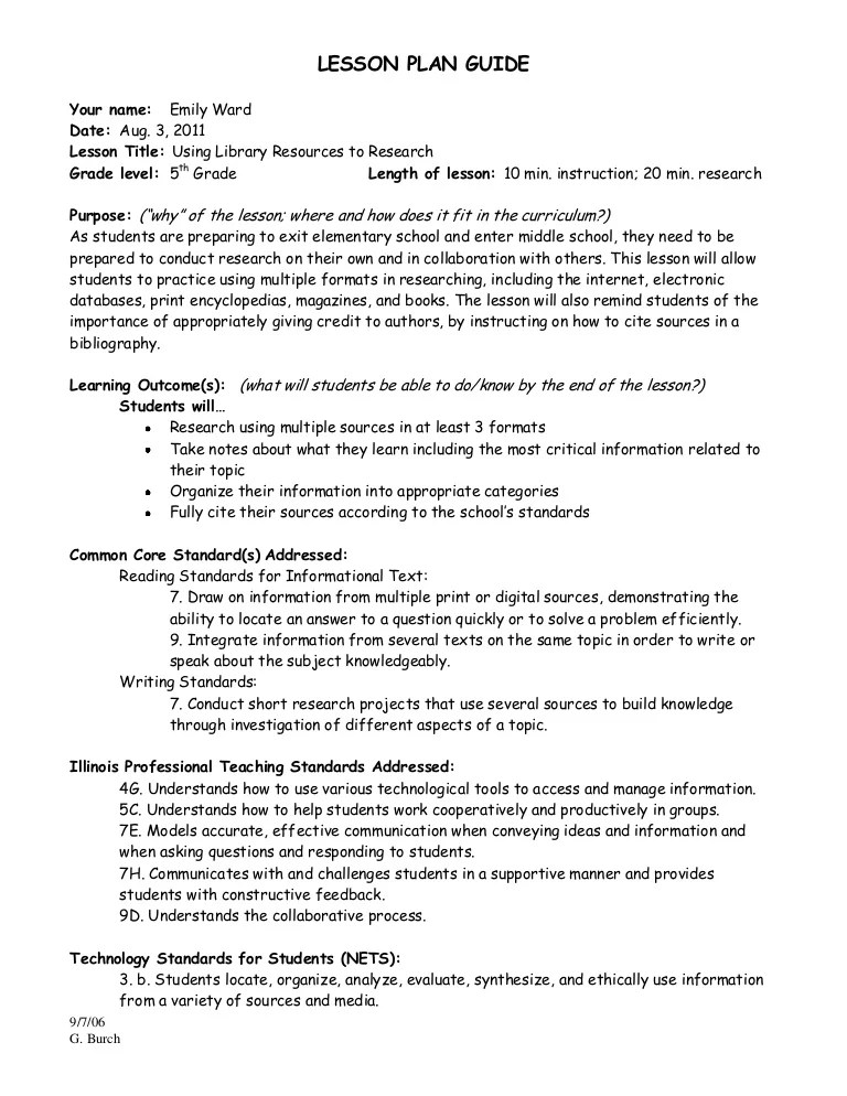 Research Paper Lesson Plans For 5th Grade Custom Essays Website