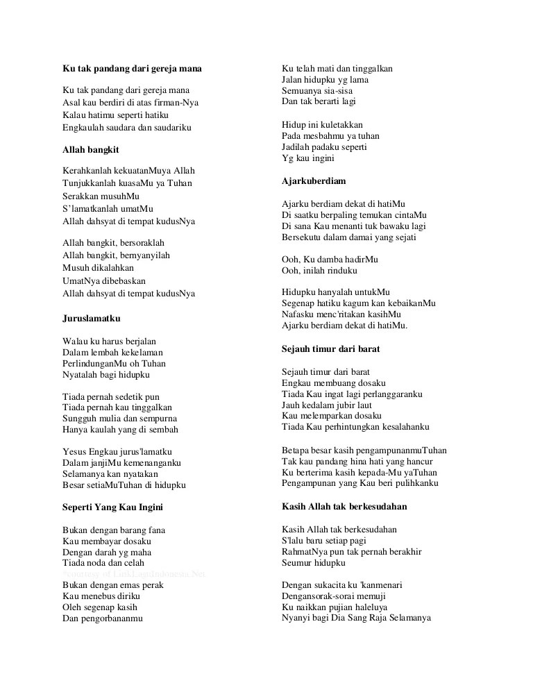 Lirik Lagu Kemenanganku : lirik, kemenanganku, Lirik