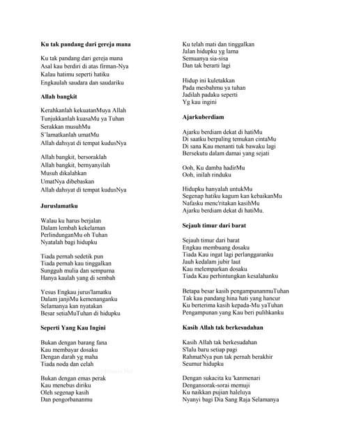 Lagu Lagu Penyembahan Gbi : penyembahan, Ibadah, Penutup