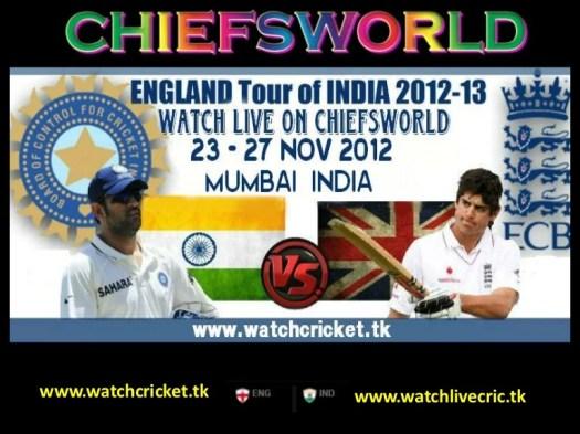 Live india vs england 2nd test match mumbai