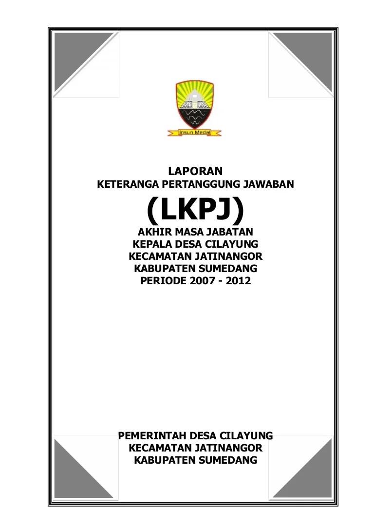 Laporan Akhir Masa Jabatan Kepala Desa Cikadu Periode 2013 - 2019