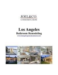 Los Angeles Bathroom Remodeling