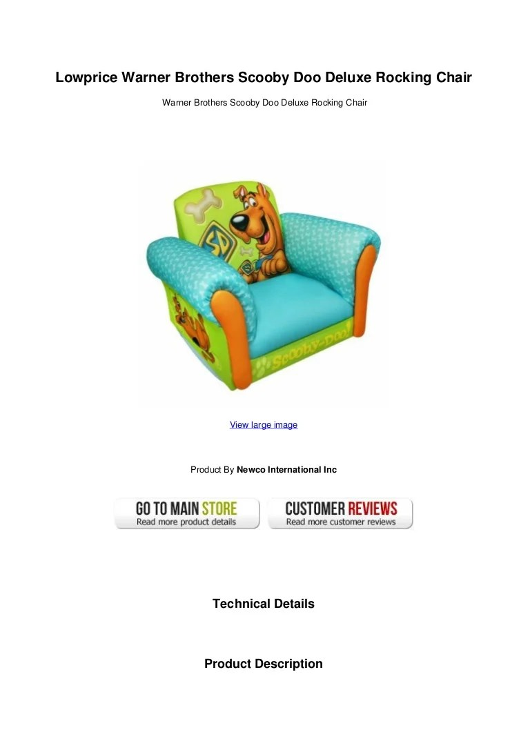 scooby doo chair swing olx bangalore lowprice warner brothers deluxe rocking lowpricewarnerbrothersscoobydoodeluxerockingchair 130428090443 phpapp01 thumbnail 4 jpg cb 1367139919