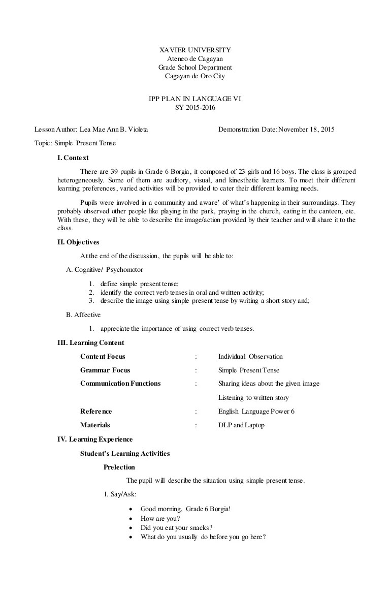 hight resolution of Simple Present Tense Of The Verb Worksheets For Grade 2 gallery