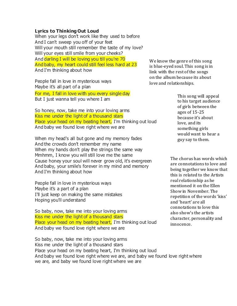 We Found Love Right Where We Are Lyrics : found, right, where, lyrics, Lyrics, Thinking