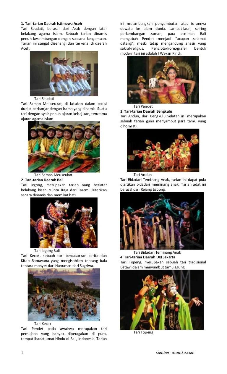 Macam Macam Tarian : macam, tarian, Macam, Tarian, Indonesia