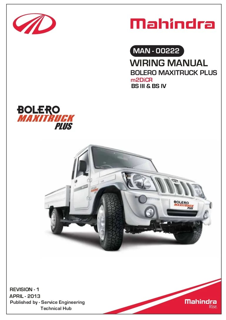 medium resolution of mahindra 450 wiring diagram