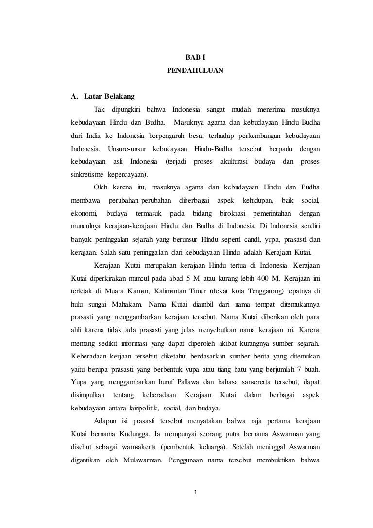 Makalah Sejarah Kerajaan Kutai : makalah, sejarah, kerajaan, kutai, Makalah, Kerajaan, Kutai