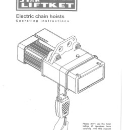 manualforliftketelectricalchainhoist 141204194318 conversion gate01 thumbnail 4 2 speed hoist pendant wiring diagram dolgular com gis hoist [ 768 x 1087 Pixel ]