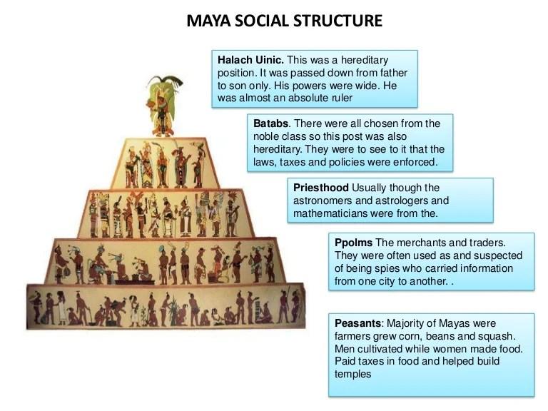 Maya social structure