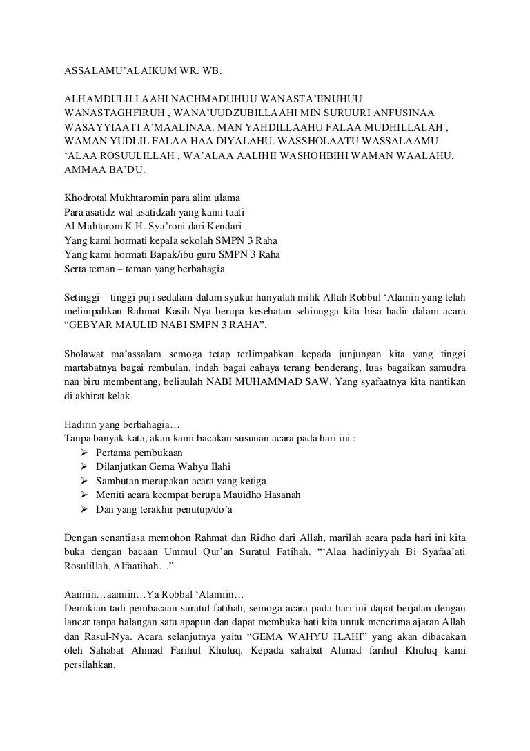 Susunan Acara Maulid Nabi : susunan, acara, maulid, Maulid, Muhammad