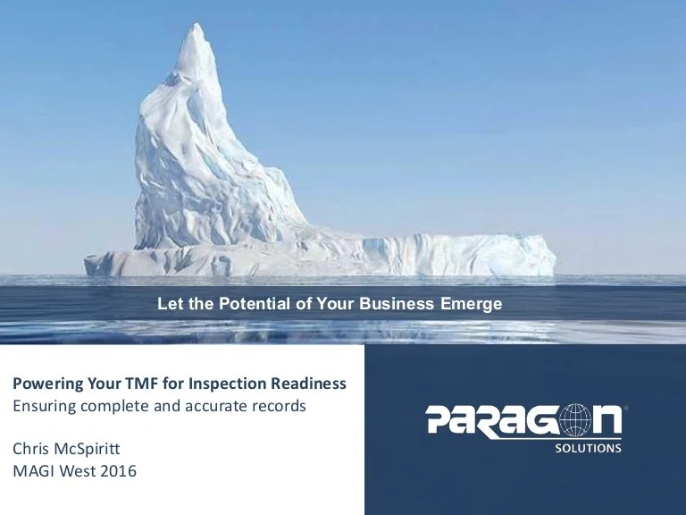Powering your TMF for Inspection Readiness