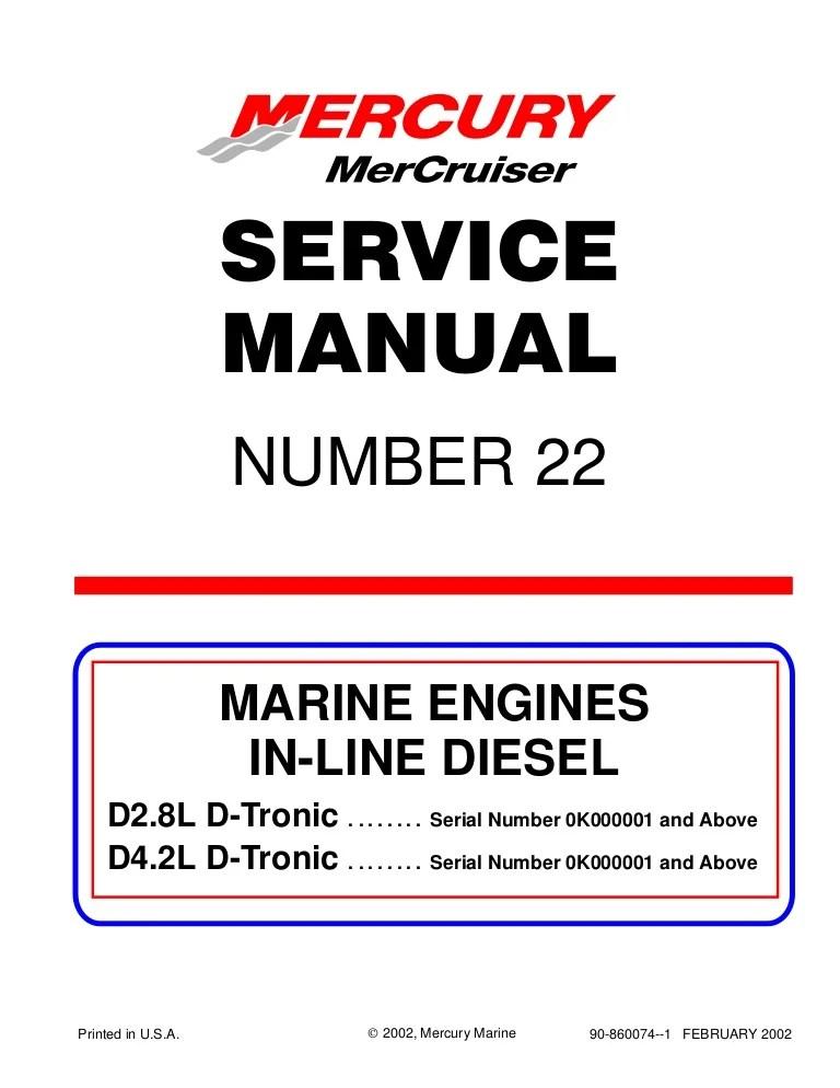 Mercury Mercruiser Marine Engine In