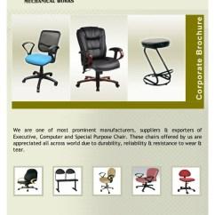 Revolving Chair Vadodara Wooden Folding Chairs Target Micro Mechanical Works Executive Computer Cha