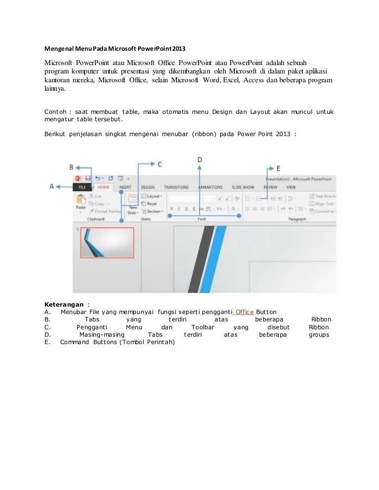 Fungsi Ribbon Pada Microsoft Powerpoint : fungsi, ribbon, microsoft, powerpoint, Microsoft, Power, Point