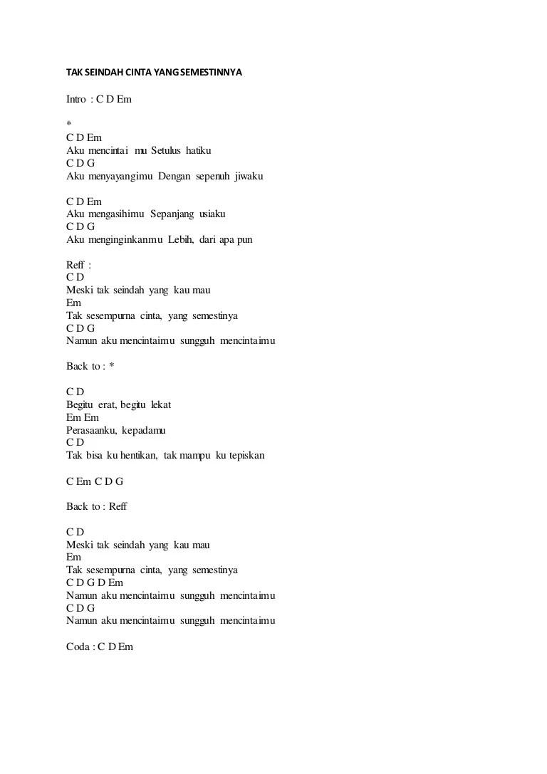 Chord Karamnya Cinta Ini : chord, karamnya, cinta, GITAR