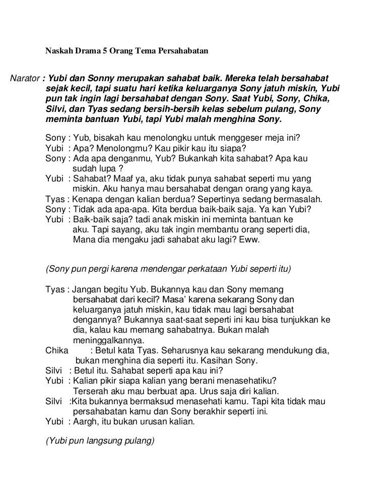 Teks Drama 2 Orang : drama, orang, Contoh, Drama, Orang, Tentang, Persahabatan, Adalah, Instalseareview