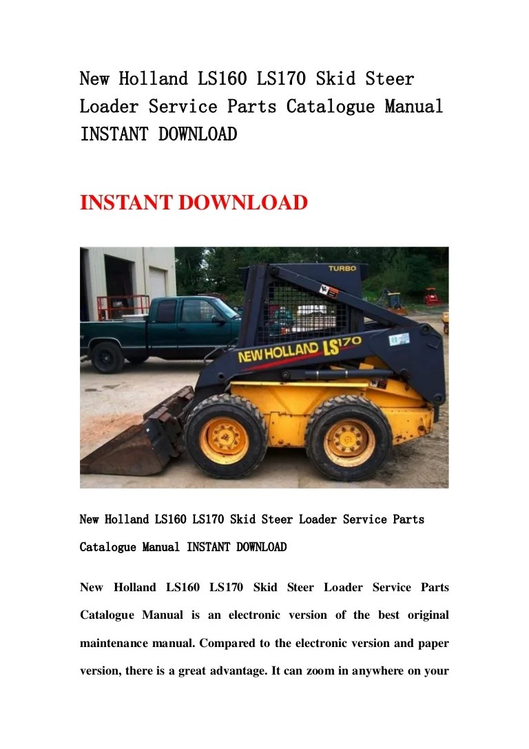 small resolution of new holland l185 wiring diagram