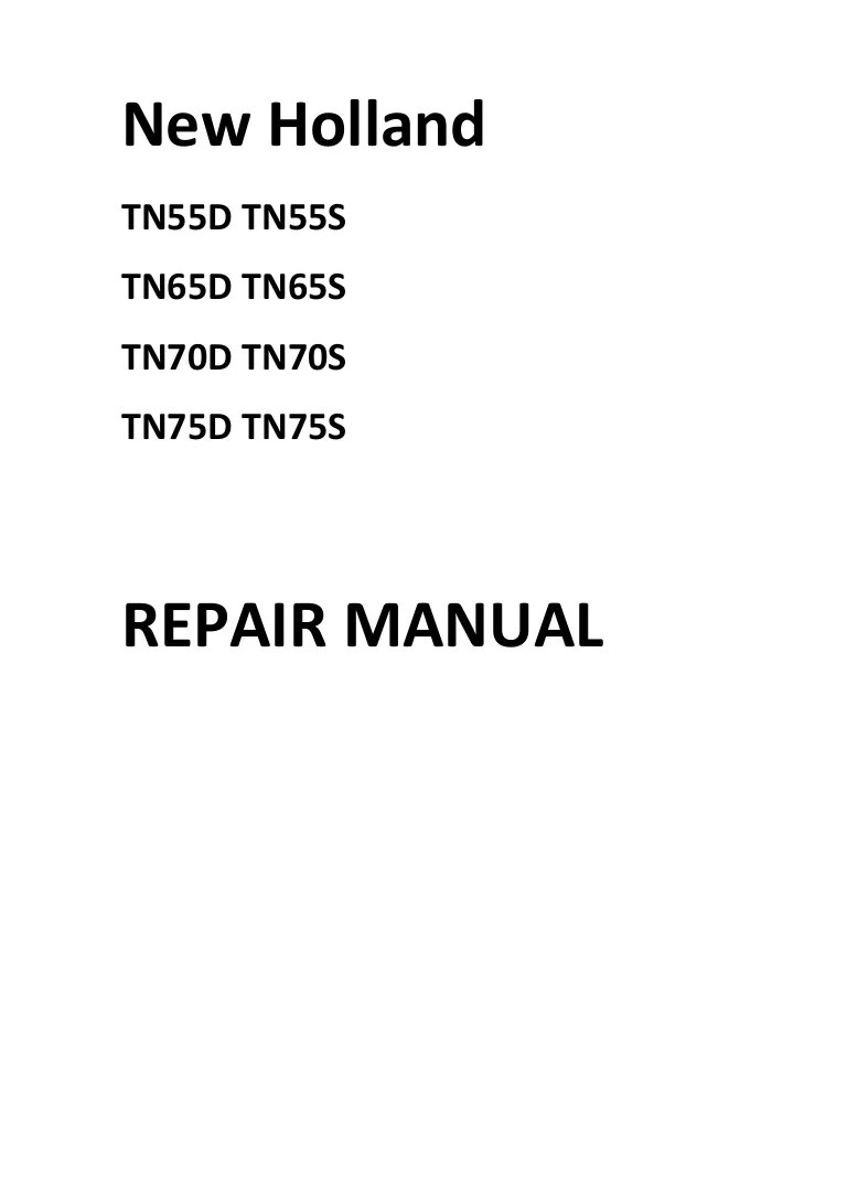 hight resolution of  new holland tn65 tractor wiring diagram new holland 65 tractor