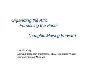 Organizing The Attic V1.0