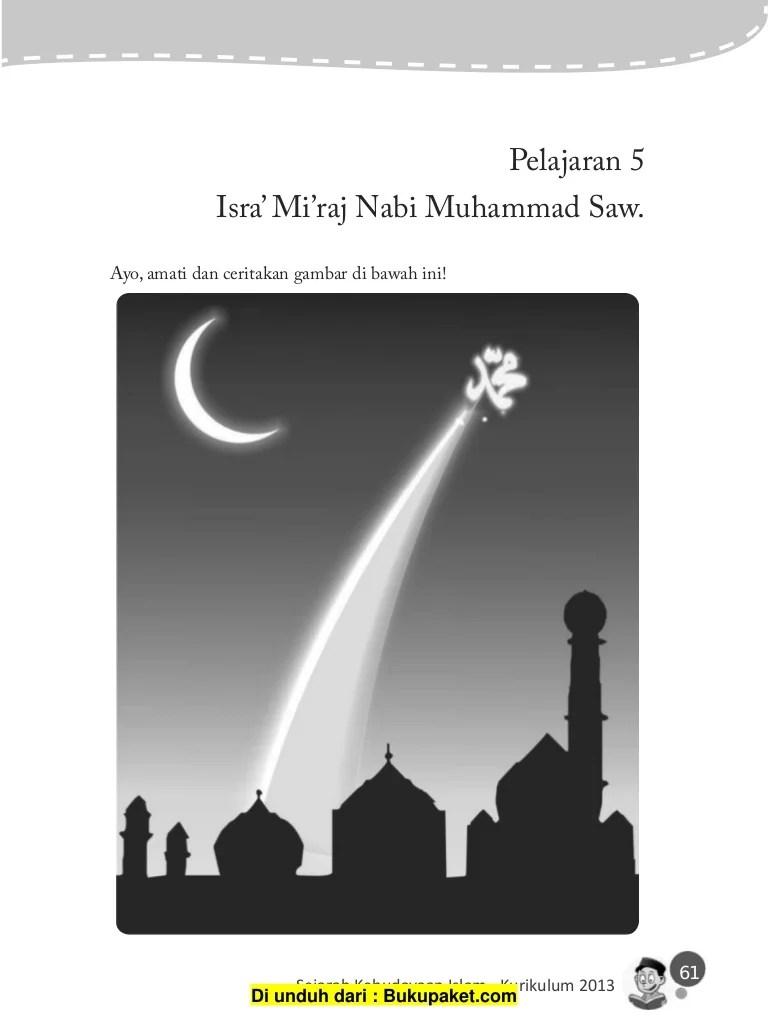 Latar Belakang Isra Mi Raj : latar, belakang, Pelajaran, Isra', Mi'raj, Muhammad