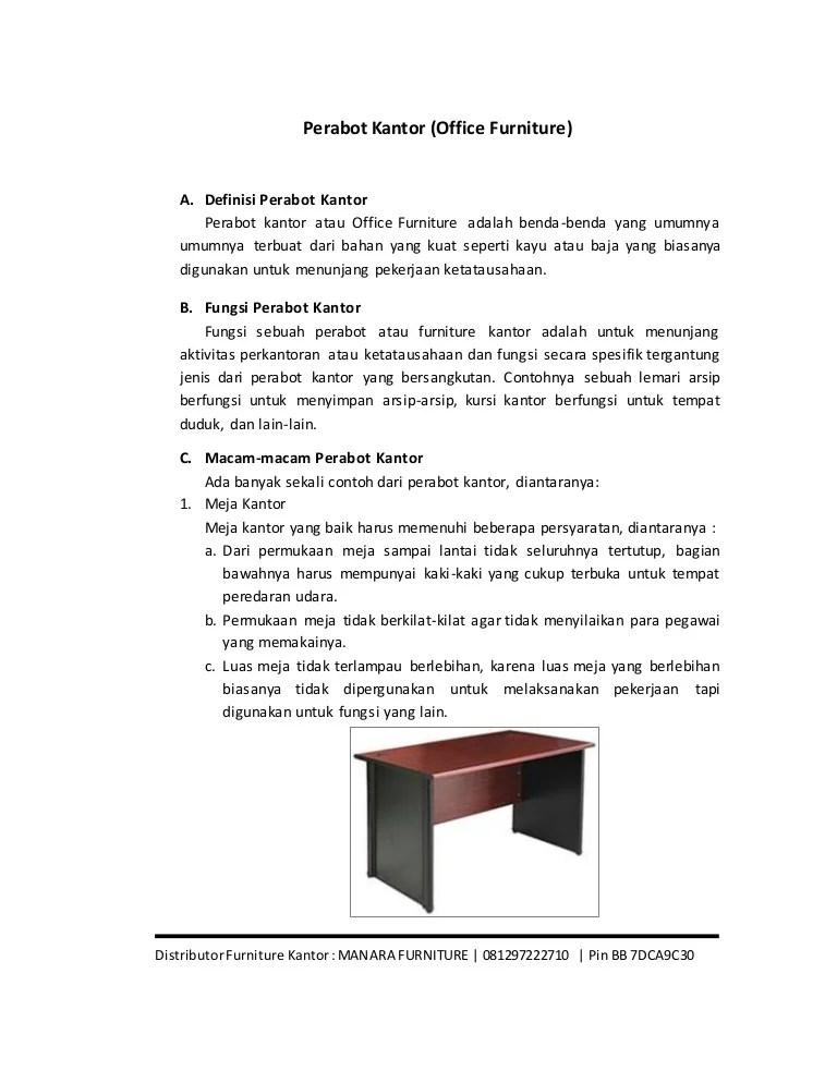 Fungsi Peralatan Kantor : fungsi, peralatan, kantor, Perabot, Furniture, Kantor