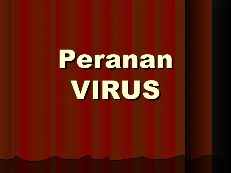 Peranan virus