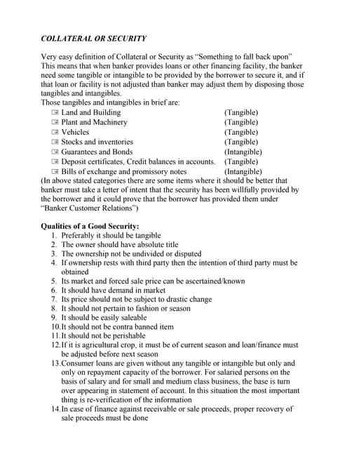 Credit proposal preparation by z ara