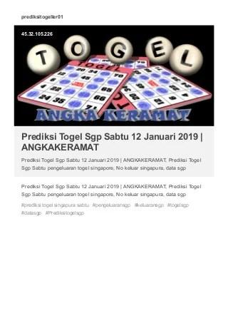 Prediksi Indotogel Singapura Hari Ini : prediksi, indotogel, singapura, Keluaran, Togel, Singapura, POKERSGP