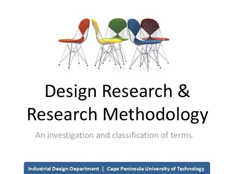 chair design research for gaming methodology