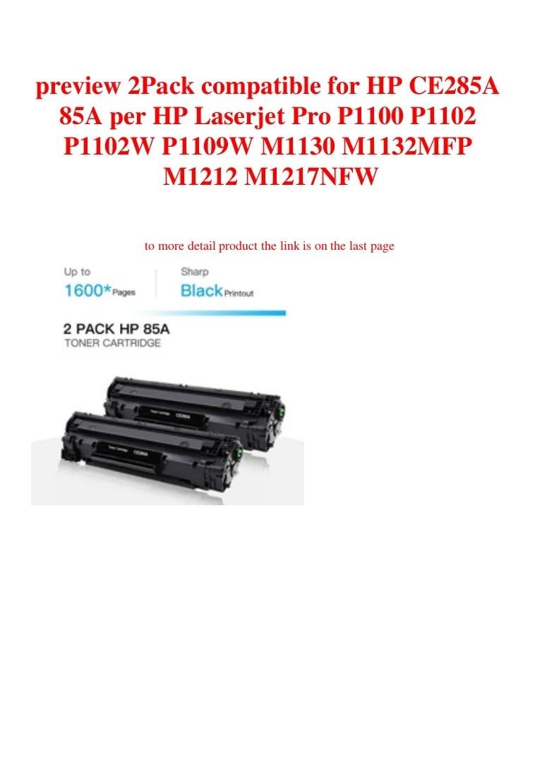 Hp Laserjet P1102w Toner Color : laserjet, p1102w, toner, color, CE285A, Toner, Cartridge, LaserJet, P1102W, M1217nfw, Printers,, Scanners, Supplies, Printer, Paper