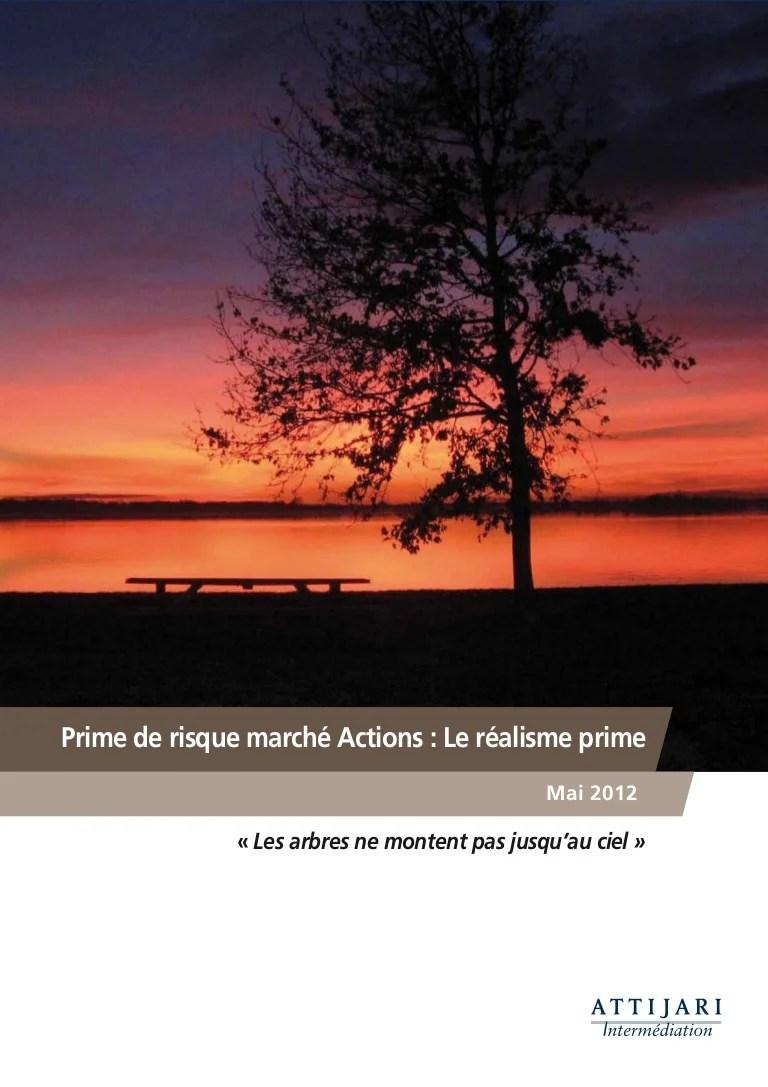 Les Arbres Ne Montent Pas Jusqu'au Ciel : arbres, montent, jusqu'au, Prime, Risque_actions___mai_2012