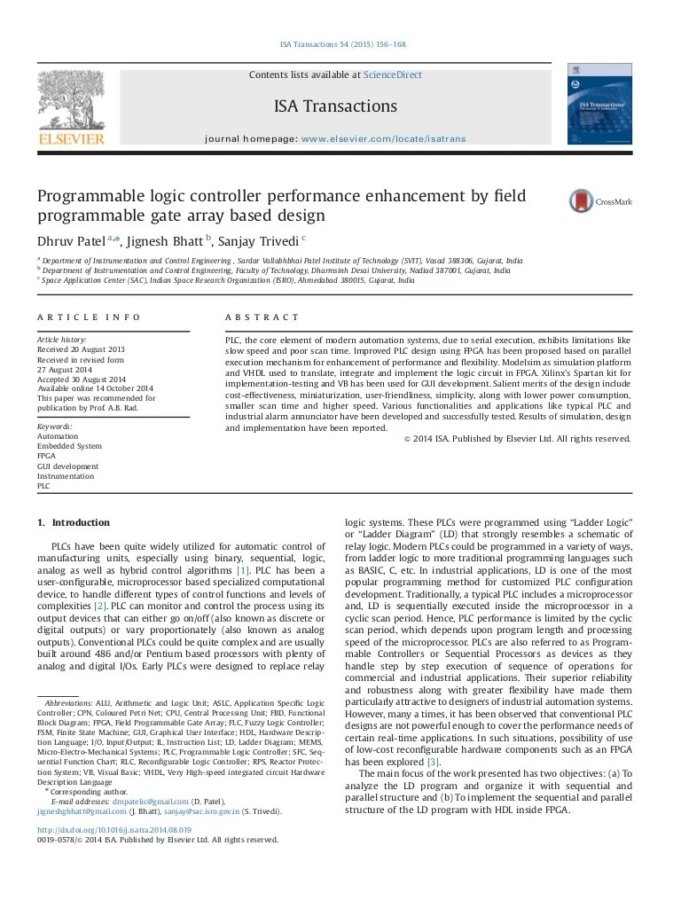 programmable logic controller performance enhancement by field programmable gate array based design [ 768 x 1024 Pixel ]