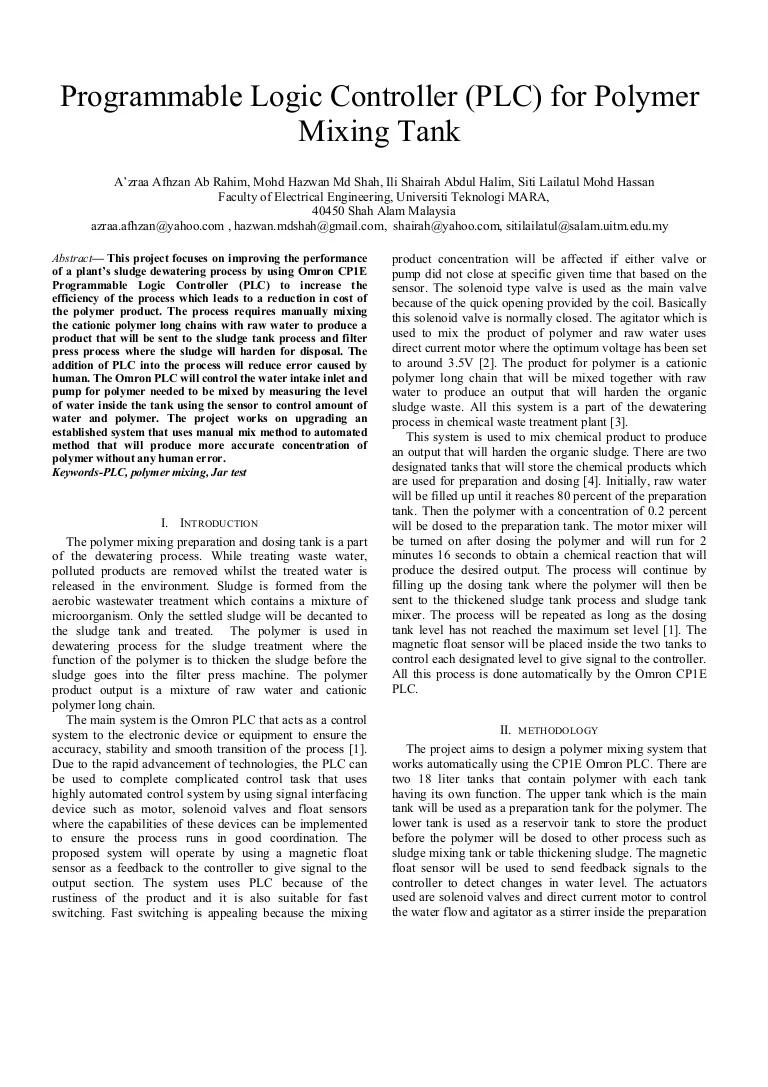 ladder diagram plc omron pdf [ 768 x 1087 Pixel ]