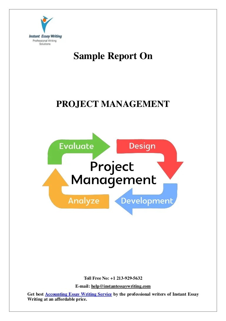 Examples Of Critical Appraisal Essays Sample On Project Management By Instant Essay Writing