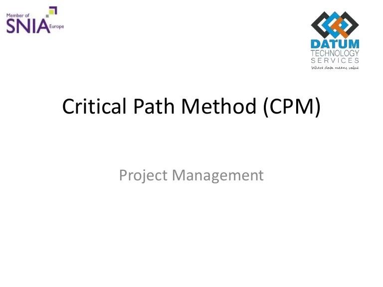 Project Schedule Network Diagram