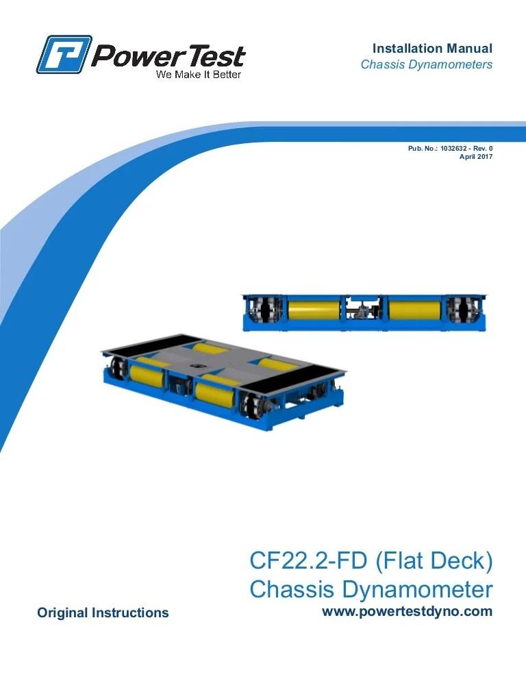 cf22 2fd chassis dyno installation manual