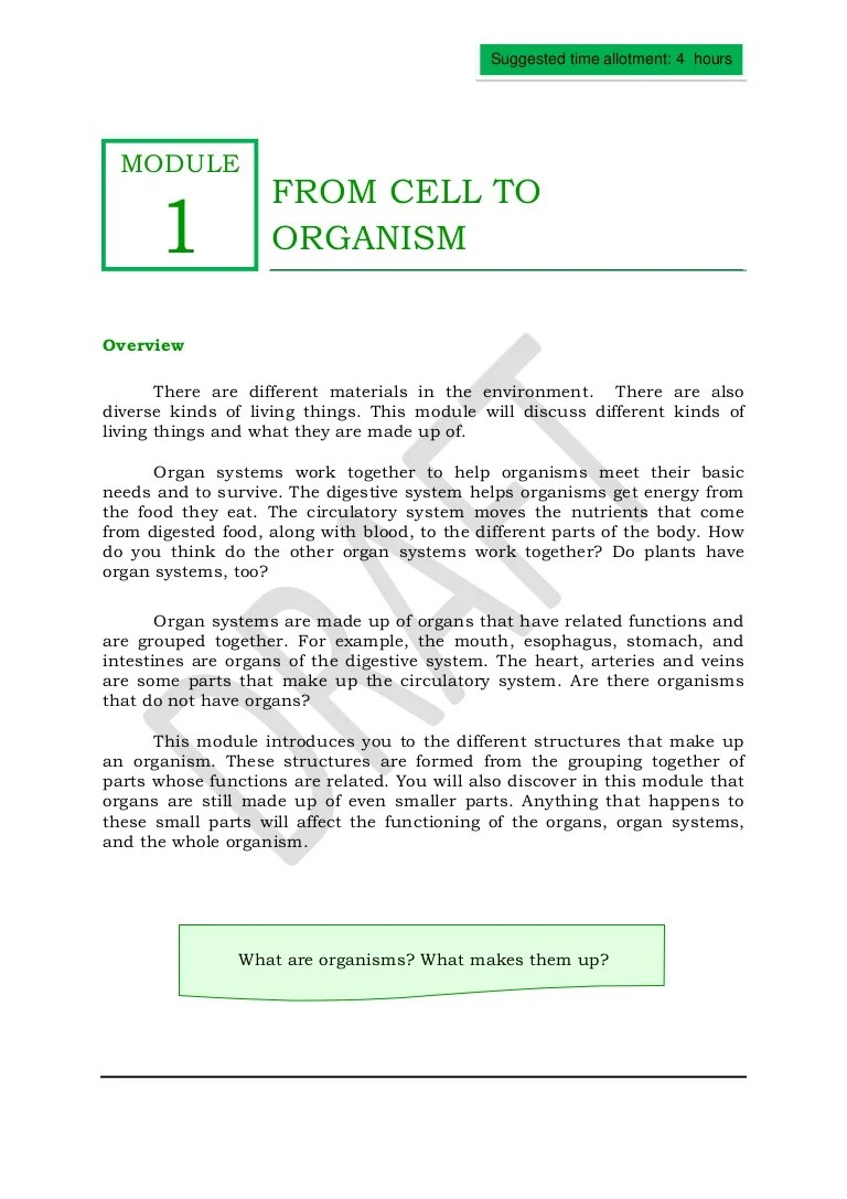 hight resolution of Qtr2module1fromcelltoorganism