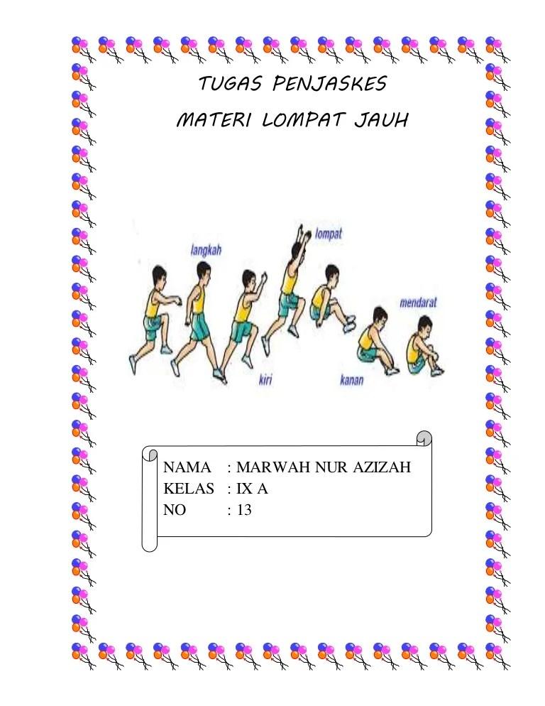 Awalan Lompat Jauh : awalan, lompat, Rangkuman, Lompat