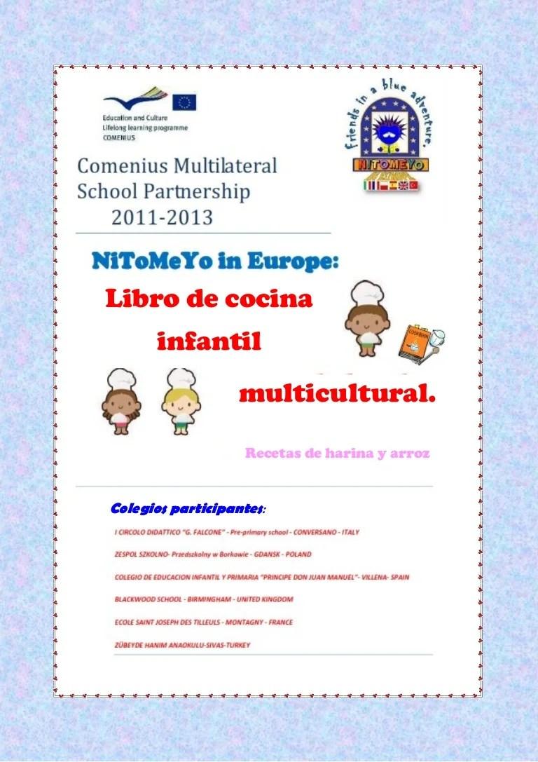 Recetario multicultural para nios espaol