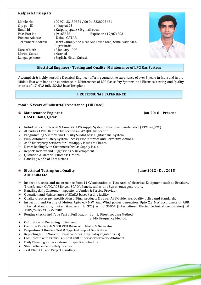 Sample Resume For Mechanical Engineer Fresher - Irrigation Plumber Resume  Example Engineer Sample Resume Cover Letter For Electrical Engineer India  Plumbing