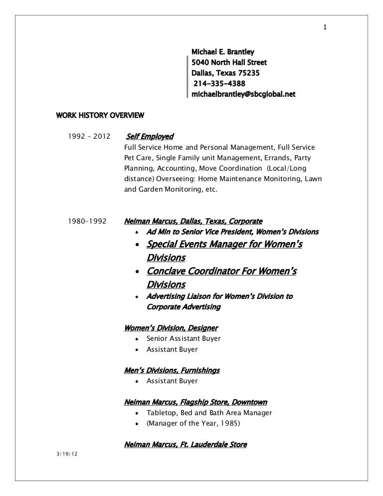 Resume 2012
