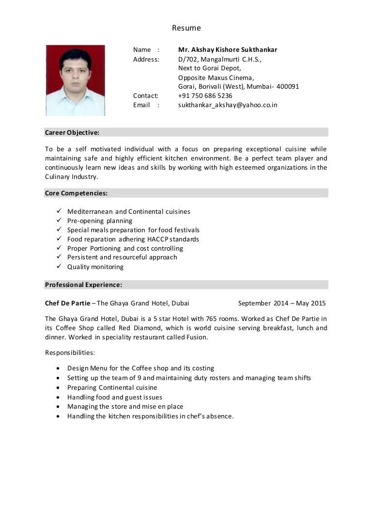 Resume Akshay Sukthankar 2