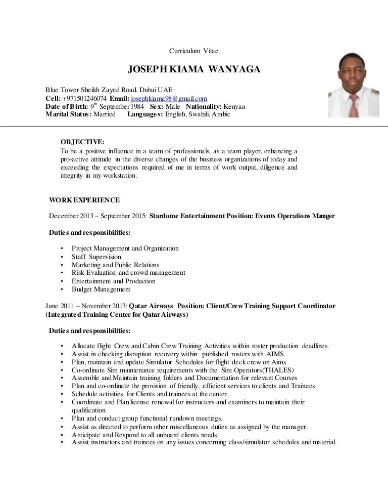 Cover Letter Airport Director - Cover Letter Resume Ideas ...