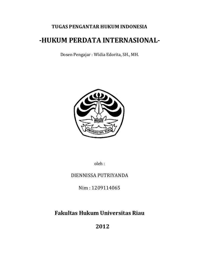 Contoh Makalah Kasus Hukum Perdata Internasional Terbaru Temukan Contoh Cute766