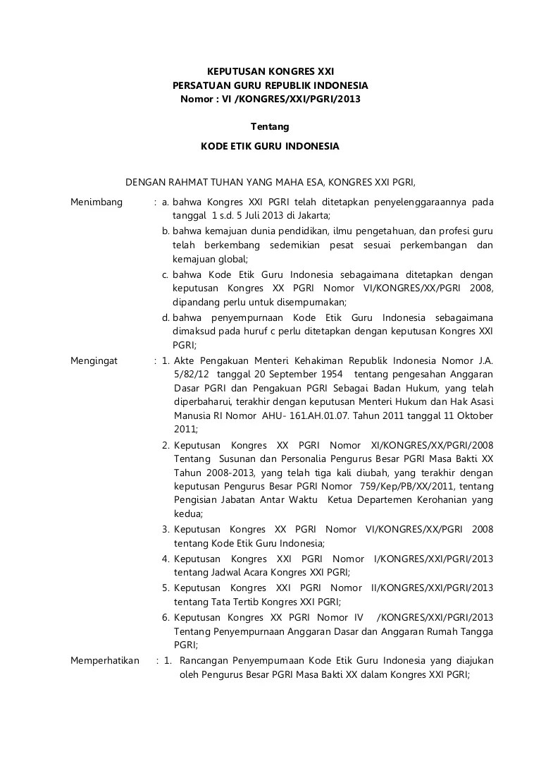 Tata Tertib Guru Indonesia : tertib, indonesia, Indonesia