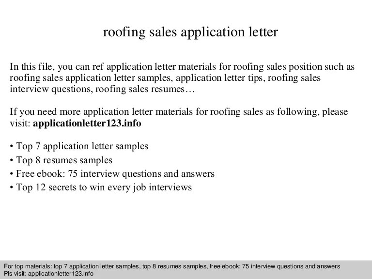 Roofing Inspector Cover Letter Sarahepps