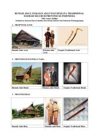 Pakaian Adat Dan Makanan Khas Jawa Timur