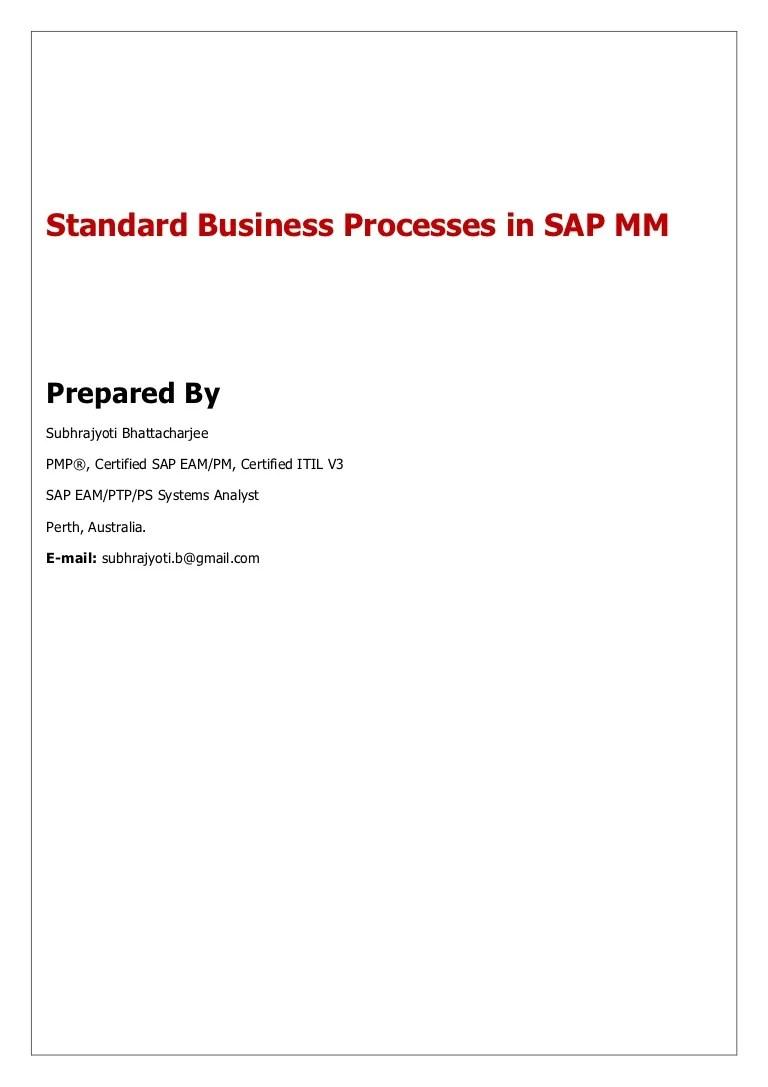hight resolution of sap mm flow diagram